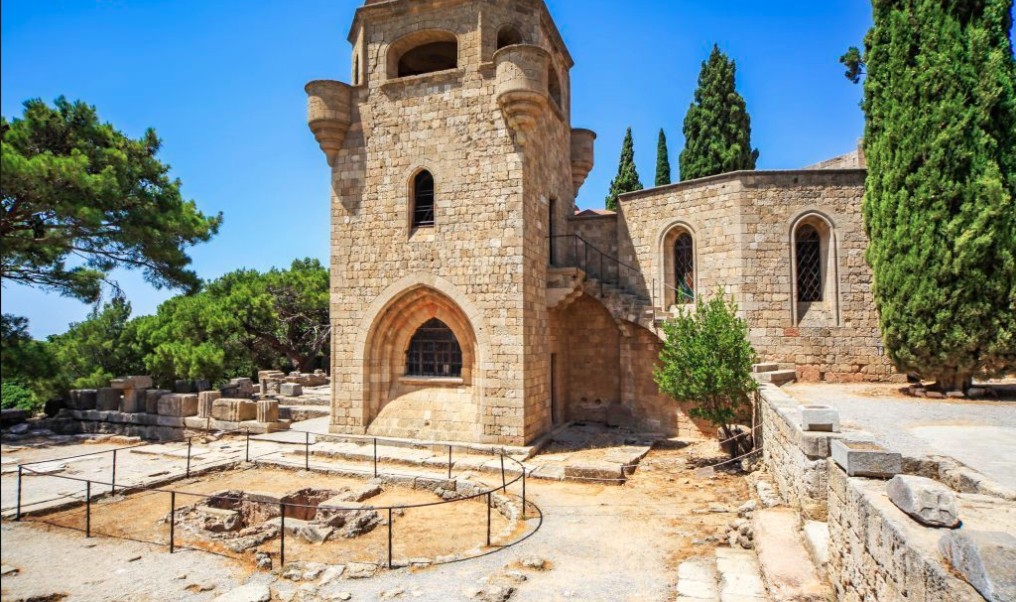 Book a taxi to Filerimos Monastery